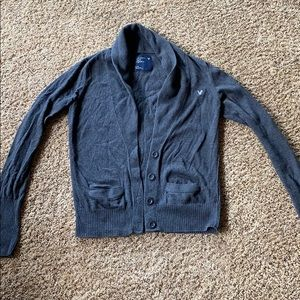 Women's Medium American Eagle grey cardigan